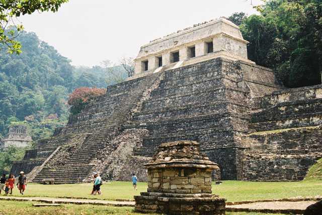 Zdjęcia: Palenque, Jukatan, Palenque - Świątynia Inskrypcji, MEKSYK