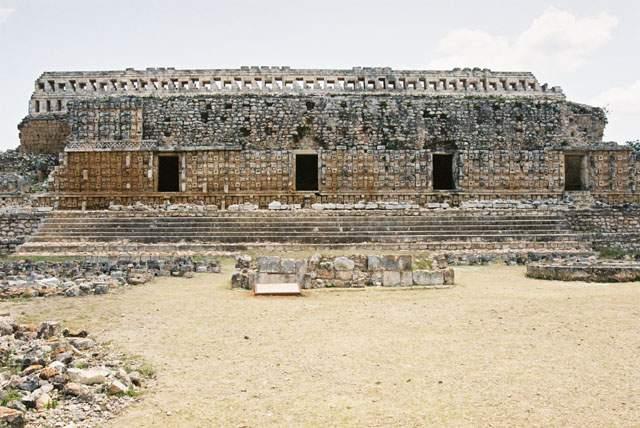 Zdjęcia: Kabah, Jukatan, Kabah - Pałac Masek, czyli Codz Pop, MEKSYK