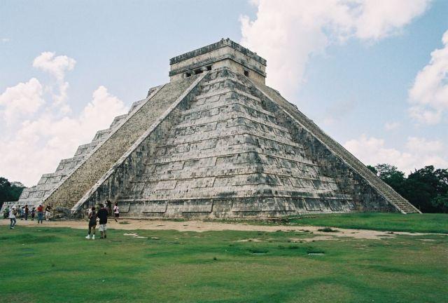 Zdjęcia: Chichen Itza, Piramida Kukulcana, MEKSYK