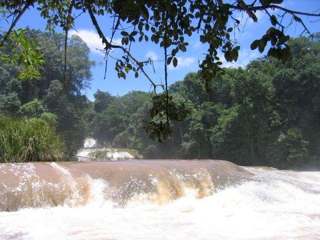 Zdjęcia: Tarasowe Wodospady na rzece Tulija, Aqua Azul, MEKSYK