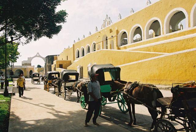 Zdjęcia: Izamal, Sanktuarium Matki Boskiej Jukatańskiej, MEKSYK