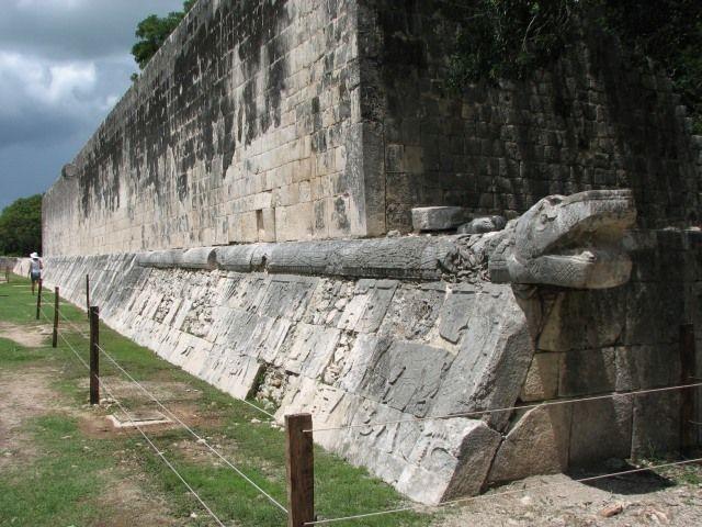Zdj�cia: Chichen Itza, Jukatan, Pierzasty w��, MEKSYK