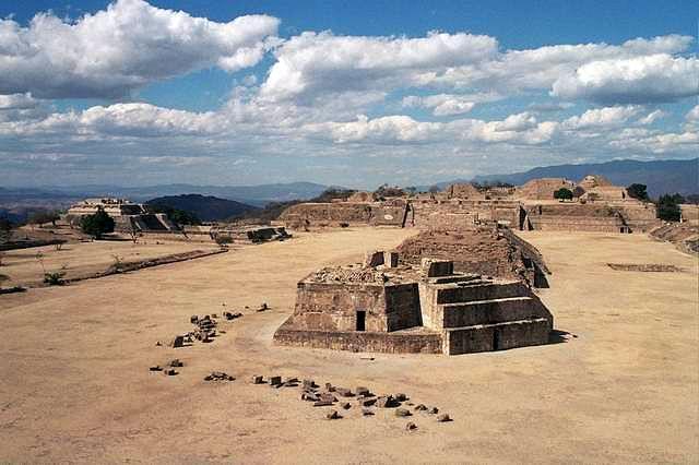 Zdj�cia: Monte Alban, Oaxaca, Monte Alban, MEKSYK