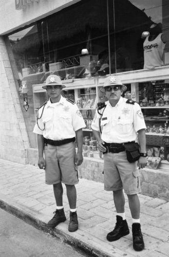 Zdjęcia: Playa del Carmen, Policjanci z Playa del Carmen, MEKSYK