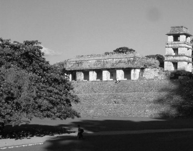 Zdj�cia: Palenque, Palenque - fragment, MEKSYK