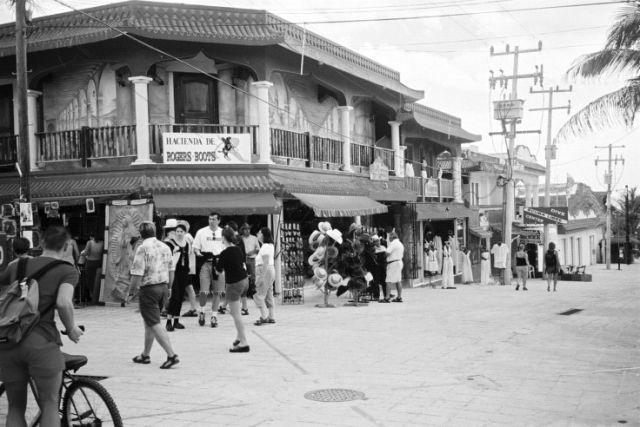 Zdjęcia: Playa del Carmen, Playa del Carmen - fragment miasta, MEKSYK