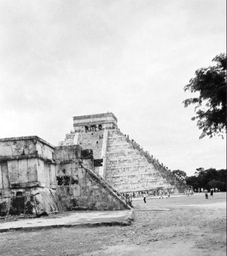 Zdjęcia: Chichen Itza, Chichen Itza - fragment, MEKSYK