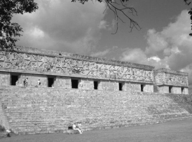 Zdj�cia: Kabah, Kabah - fragment, MEKSYK