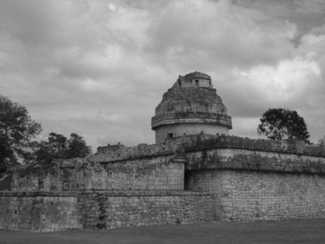 Zdj�cia: Chichen Itza, India�skie obserwatorium w Chichen Itza, MEKSYK