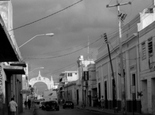 Zdj�cia: Merida, Merida - fragment miasta, MEKSYK