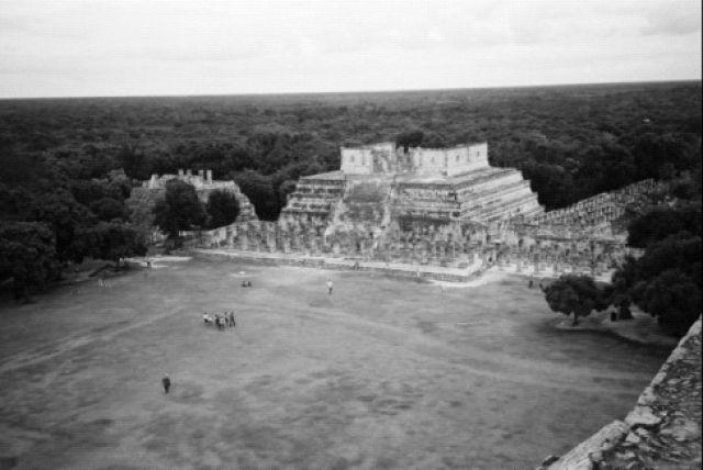 Zdjęcia: Merida, Świątynia Wojowników w Chichen Itza, MEKSYK