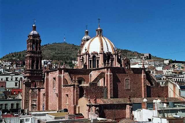Zdj�cia: Zacatecas, Zacatecas, Katedra w Zacatecas, MEKSYK