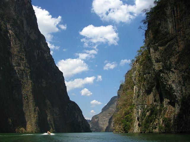 Zdjęcia: Rzeka Grijalva, ., Wąwóz Sumidero, MEKSYK