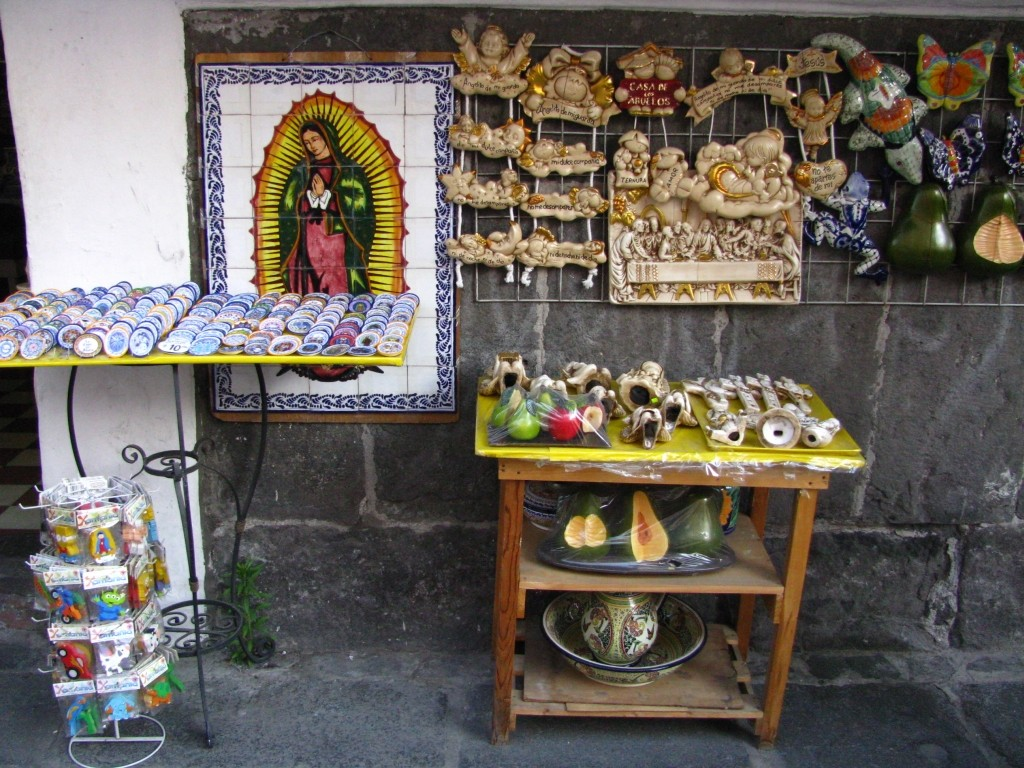 Zdjęcia: Puebla, stan Puebla, sklep z pamiątkami, MEKSYK