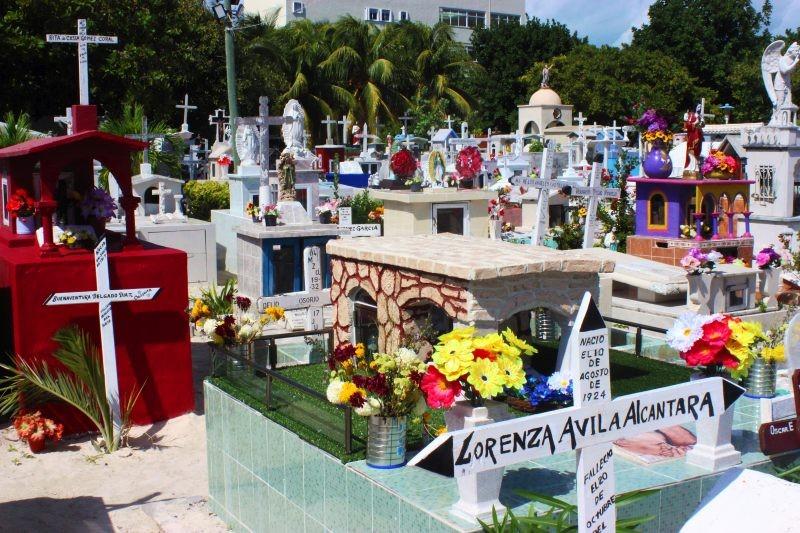 Zdjęcia: Isla Mujeres, Isla Mujeres, Cmentarz na Isla Mujeres, MEKSYK