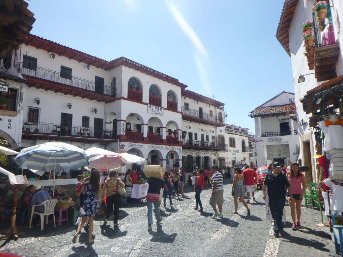 Zdjęcia: Taxco, Guerrero, Ulice Taxco, MEKSYK