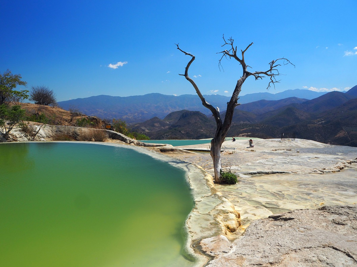 Zdjęcia: Hierve el Agua, stan Oaxaca , Hierve el Agua, MEKSYK