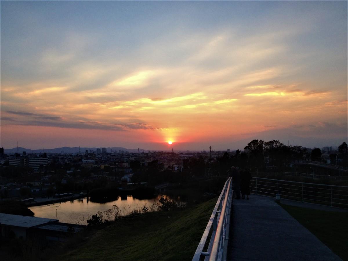 Zdjęcia: Puebla, Puebla, Zachód Słońca w Puebla, MEKSYK