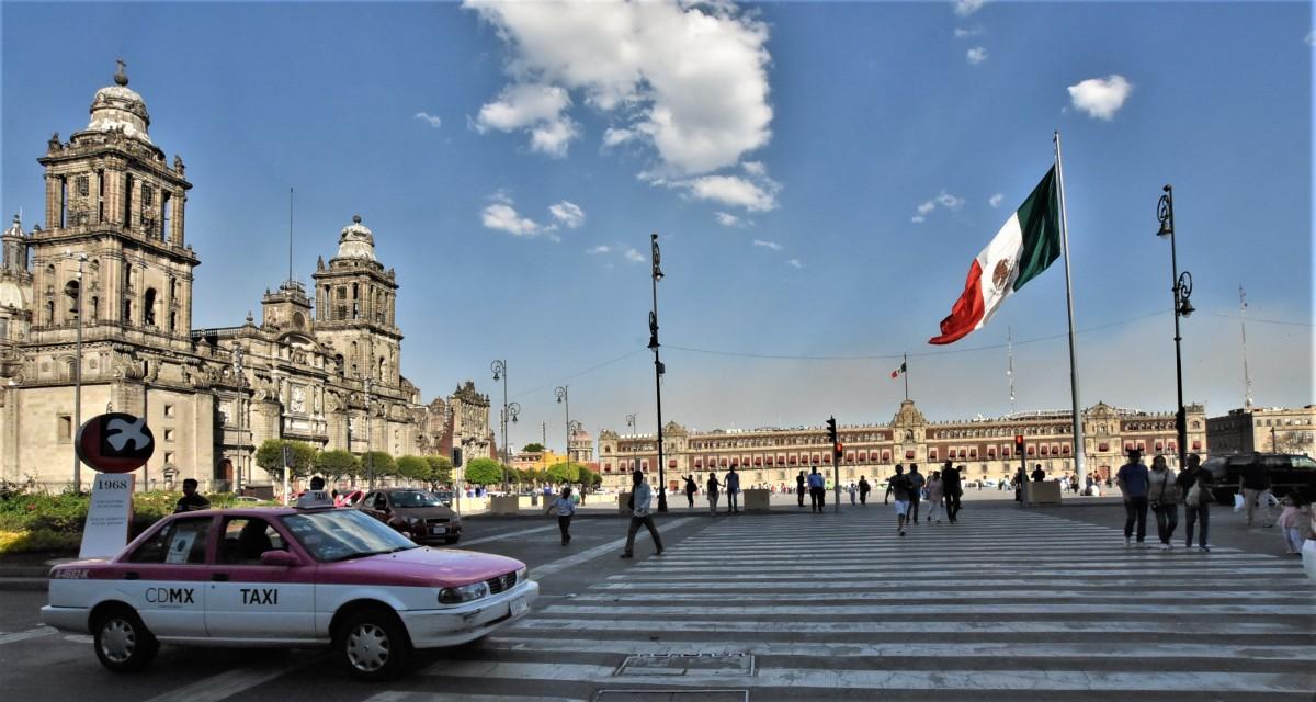 Zdjęcia: Mexico City, Stolica, Mexico City, panorama, MEKSYK