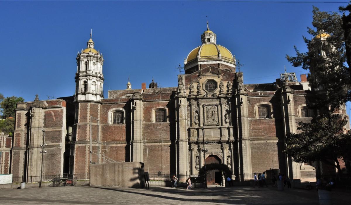 Zdjęcia: Guadalupe, Mexico City, Guadalupe, najstarsza bazylika, MEKSYK