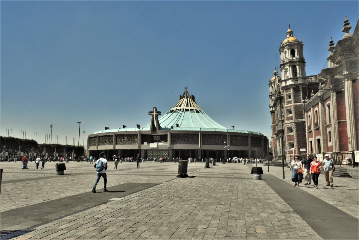 Zdjęcia: Guadalupe, Mexico City, Guadalupe, nowa bazylika, MEKSYK