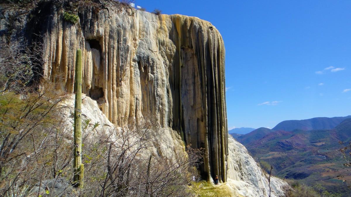 Zdjęcia: Hierve del Agua, Oaxaca, Hierve del Agua - formacje naciekowe, MEKSYK