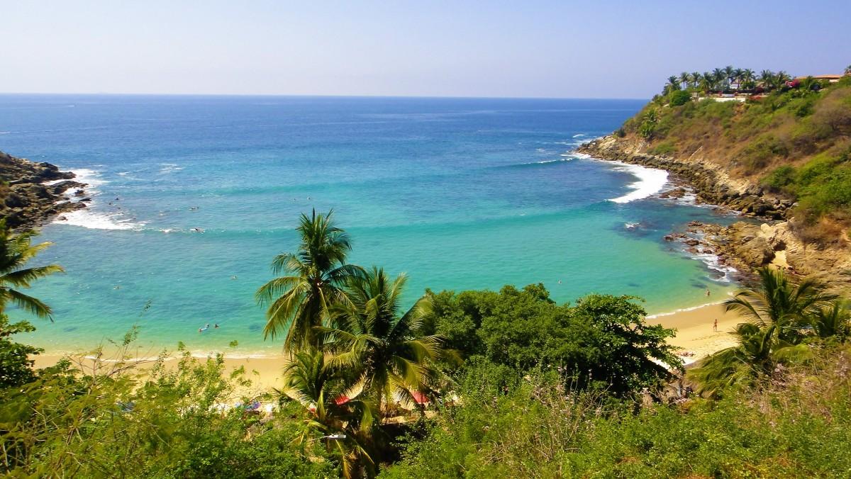 Zdjęcia: Puerto Escondido, Oaxaca, Plaża w Meksyku - Puerto Escondido, MEKSYK