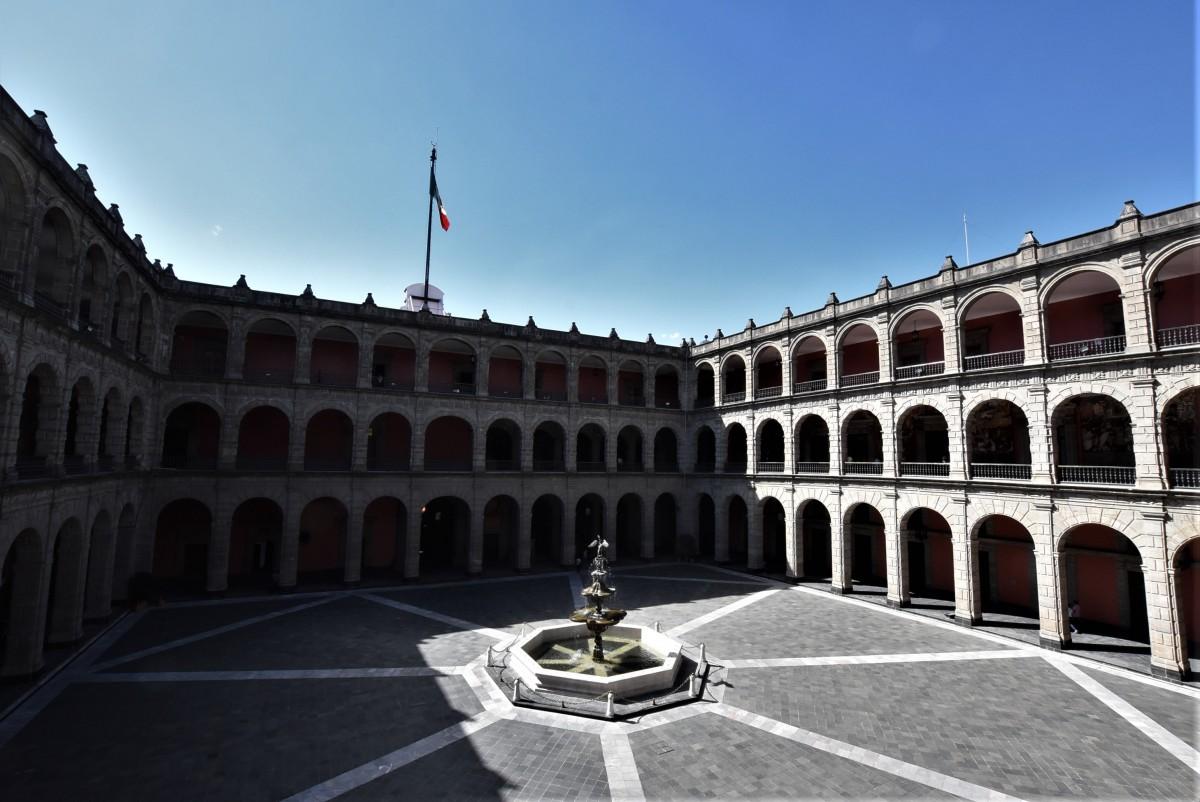 Zdjęcia: Mexico City, Stolica, Mecico City, Palacio Nacional, MEKSYK