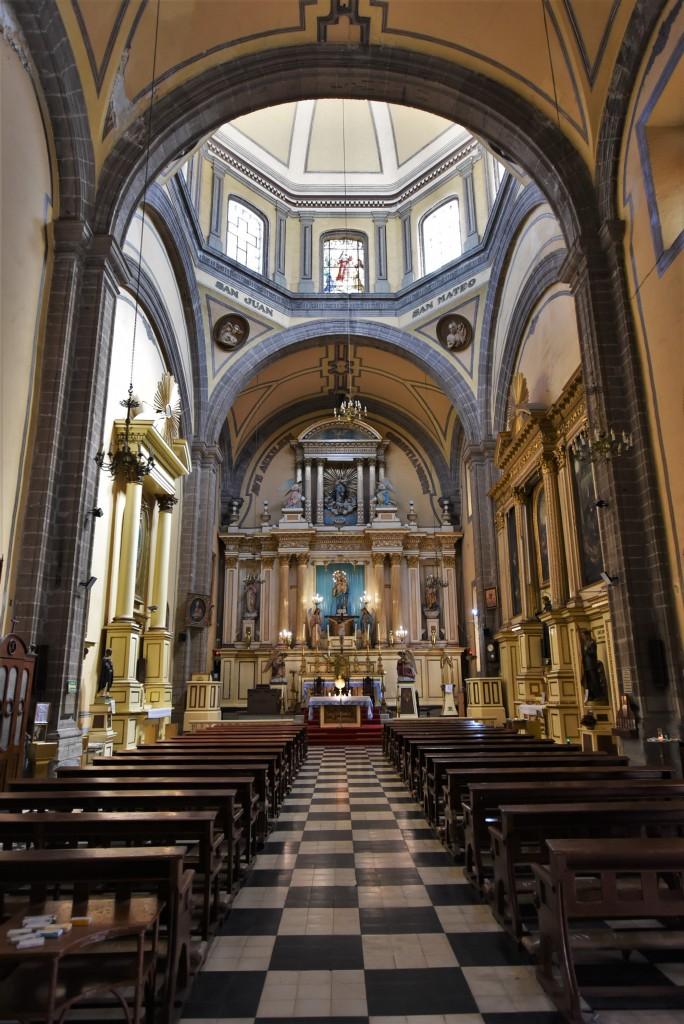 Zdjęcia: Mexico City, Stolica, Mecico City, Templo de Santa Inés, MEKSYK
