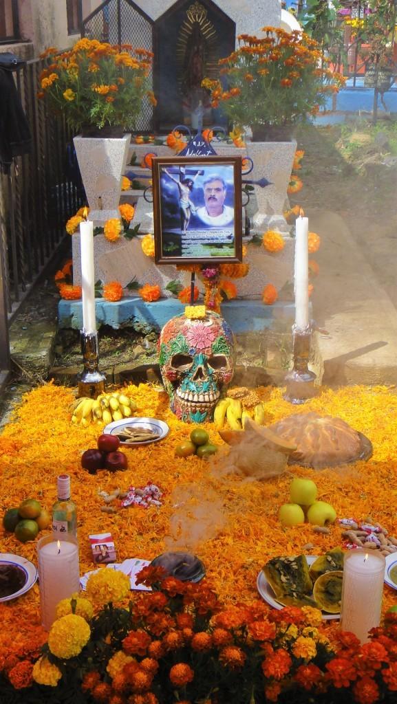 Zdjęcia: Cuernavaca, Morelos, Ołtarz na Dzień Zmarłych, MEKSYK