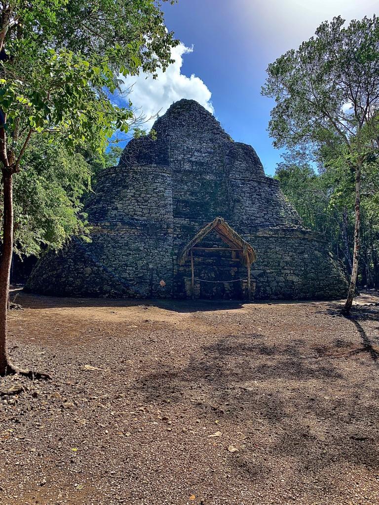 Zdjęcia: Cobá , Jukatan , Cobá piramida , MEKSYK