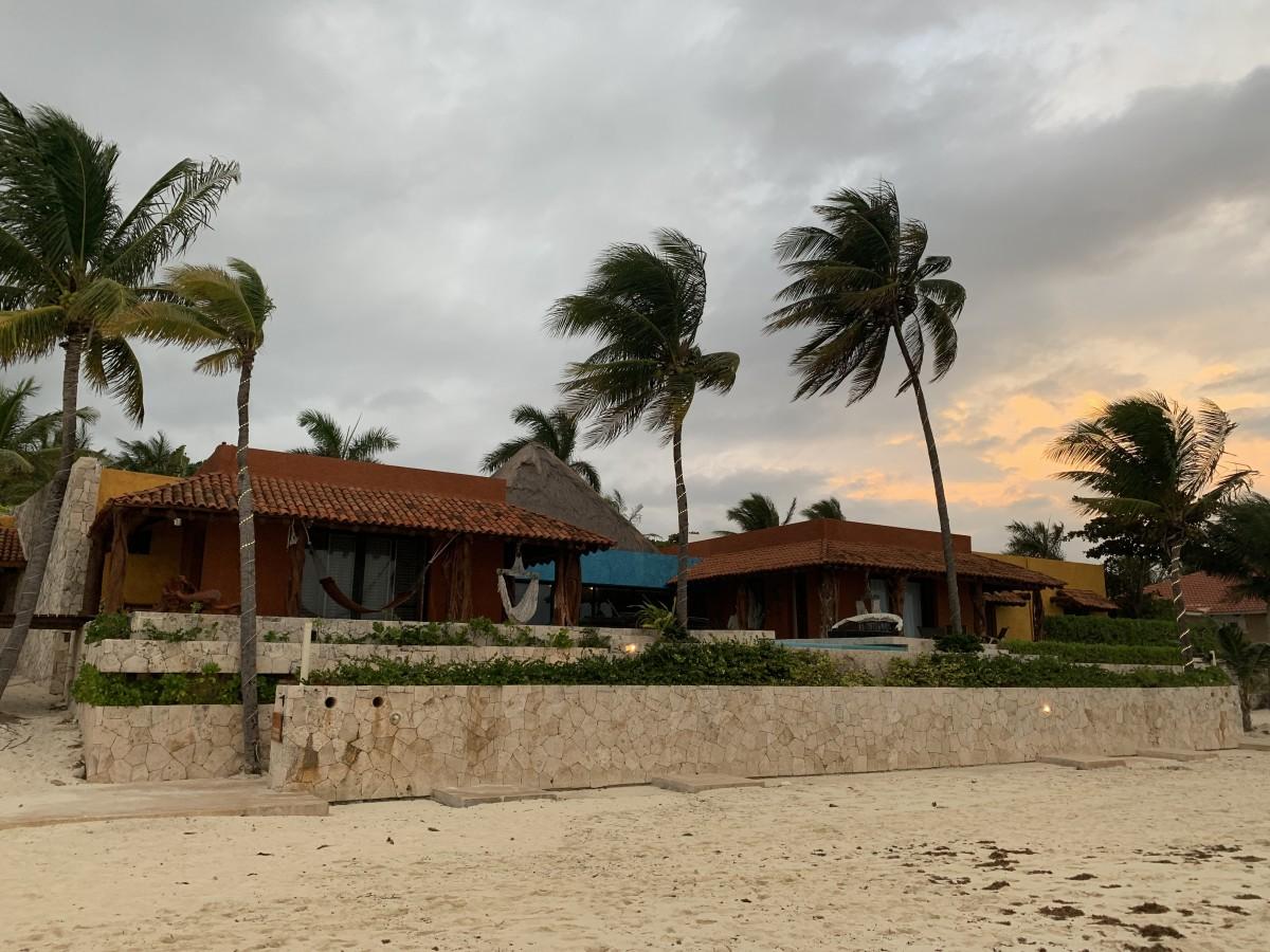 Zdjęcia: Playa del Carmen , Jukatan , Dom na plaży , MEKSYK