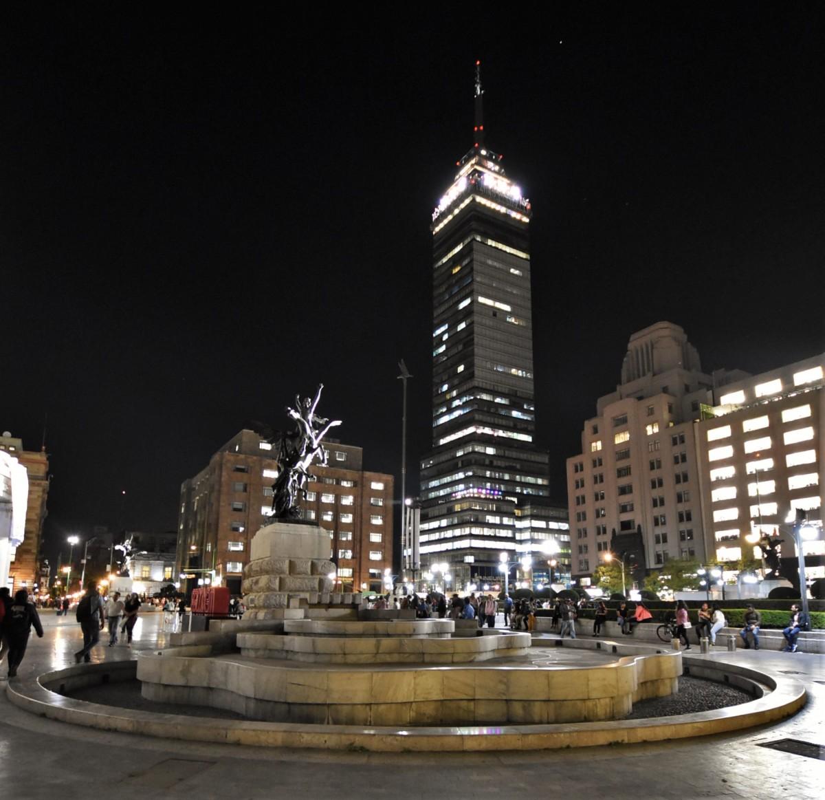 Zdjęcia: Mexico City, Stolica, Mexico City, Mirador Torre Latino, MEKSYK