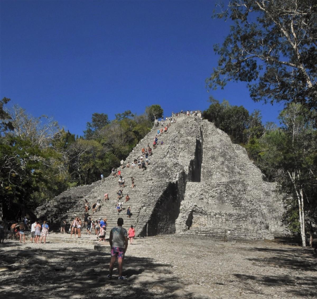 Zdjęcia: Coba, Jukatan, Coba, piramida, MEKSYK