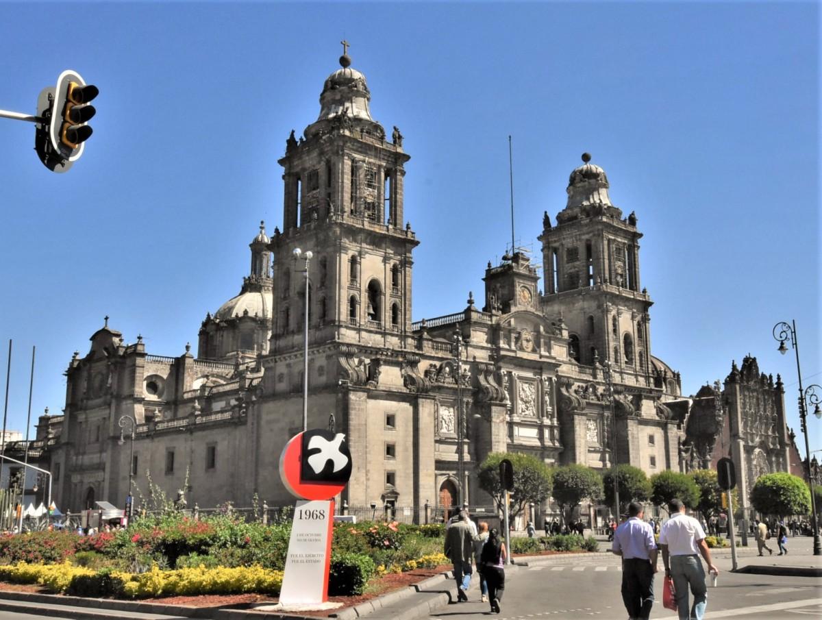 Zdjęcia: Mexico City, Stolica, Mexico City, katedra, MEKSYK