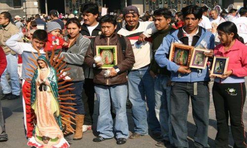 Zdjęcie MEKSYK / Meksyk / Sanktuarium Matki Boskiej z Gwadelupy / Pamiatka z pielgrzymki