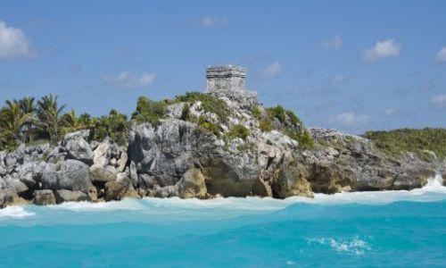Zdjecie MEKSYK / Jukatan / Tulum / Strefa archeologiczna w Tulum