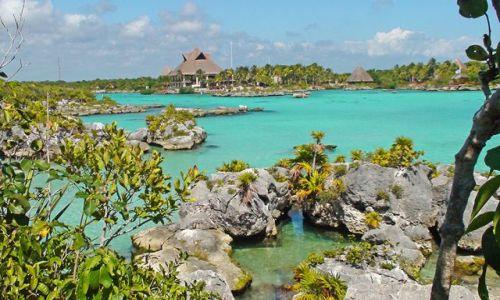 Zdjęcie MEKSYK / Jukatan / Xel-Ha / Rajska laguna