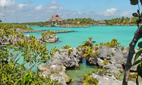 Zdjecie MEKSYK / Jukatan / Xel-Ha / Rajska laguna