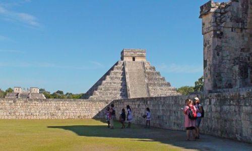 Zdjęcie MEKSYK / Jukatan / Chichen Itza / Meksykańskie piramidy