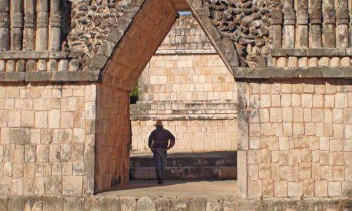 Zdjecie MEKSYK / Jukatan / Uxmal / Meksykańskie piramidy