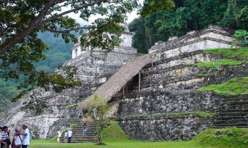 Zdjęcie MEKSYK / Jukatan / Palenque / Meksykańskie piramidy cd.