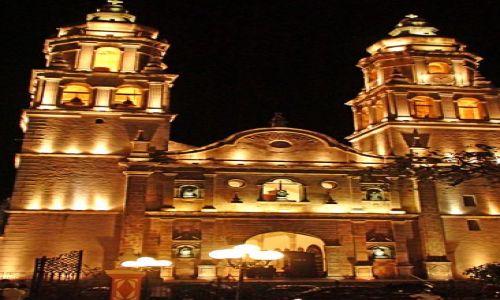 Zdjęcie MEKSYK / Stan campeche / Campeche / Meksykańskie kościoły