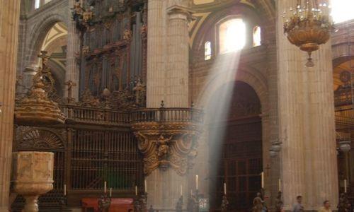 Zdjęcie MEKSYK / brak / Mexico City / Katedra w Mexico City