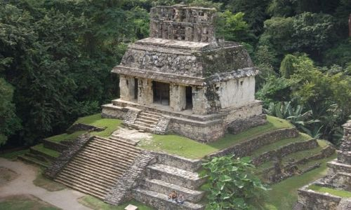 Zdjęcie MEKSYK / brak / Palenque / Piramida w Palenque