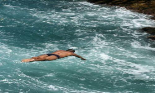 MEKSYK / - / zatoka La Quebrada/Acapulco / smiałkowie z Acapulco