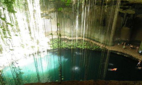 Zdjecie MEKSYK / Jukatan / Chichen Itza / Cenote, czyli basen pod ziemią