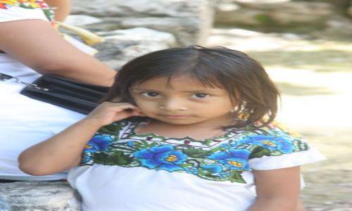 Zdjecie MEKSYK / Jukatan / Chichen Itza / Twarz Meksyku