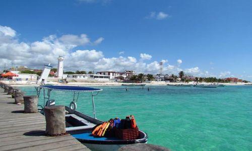 Zdjecie MEKSYK / - / Puerto Morelos / Lazur