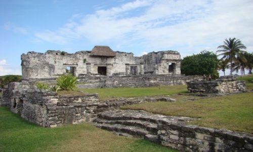 Zdjecie MEKSYK / - / Tulum / ruiny miasta Majów w Tulum